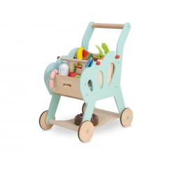 Le Toy Van Honeybake indkøbsvogn i træ-20