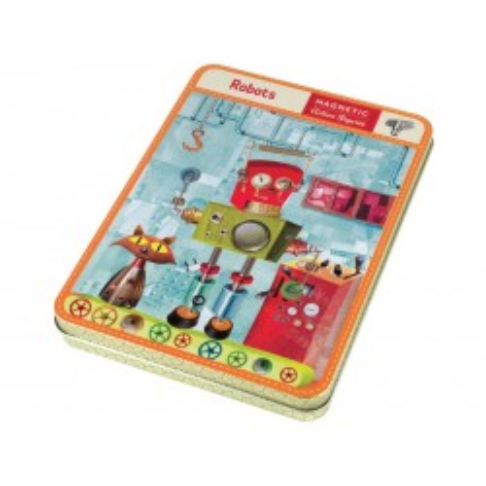 Magnetisk legesæt, Robotter Mudpuppy-20