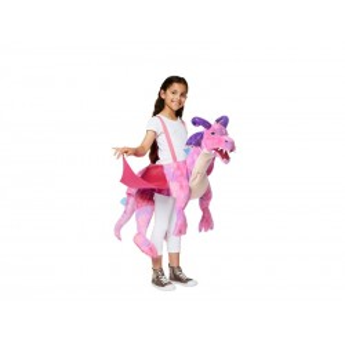 Dyrekostume Pink Drage, 3-8 år Travis Designs-21