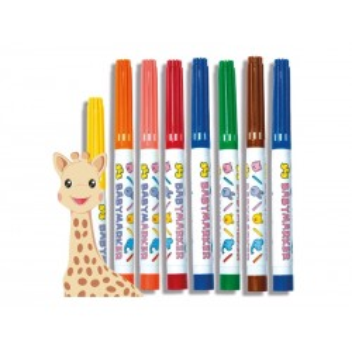 Mine første tuscher Sophie la Girafe SES Creative-20