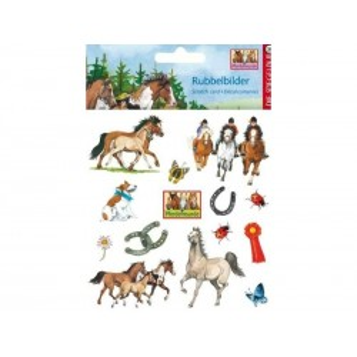 Hestevenner Scratch stickers med heste-21