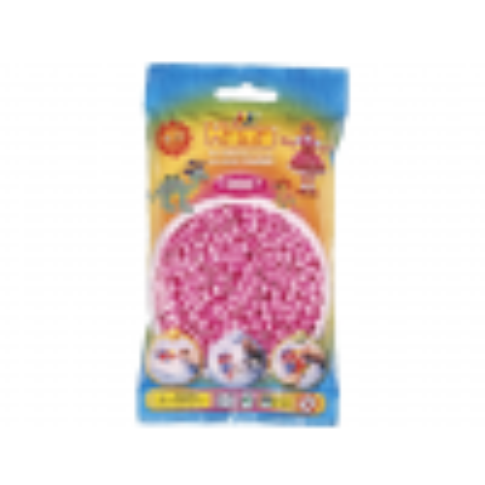 HAMA Midi Perler 1.000 stk., Pastel Pink-01