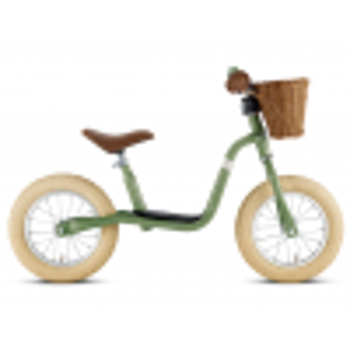 PUKY Vintage Løbecykel Retro Grøn-01