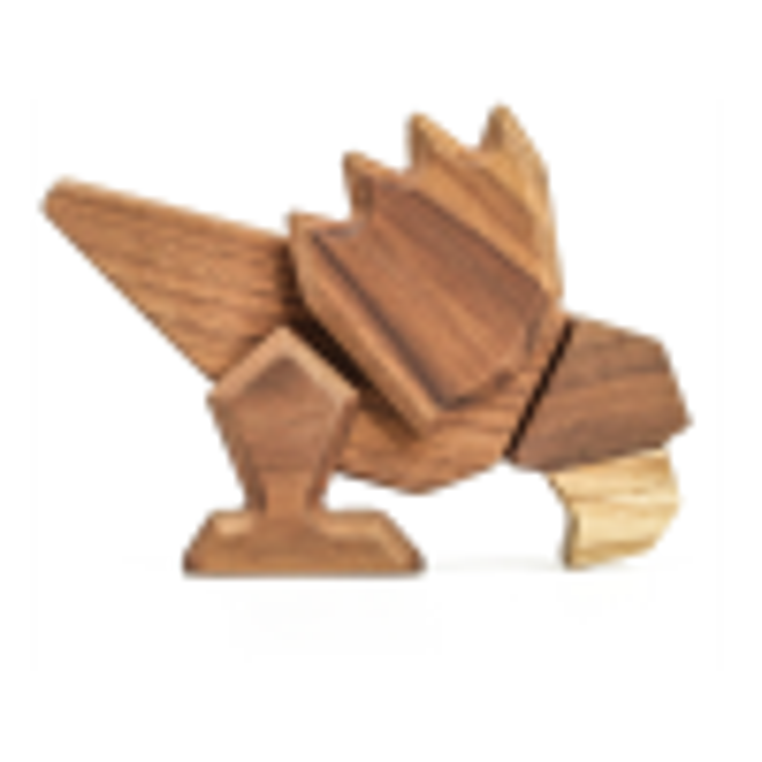 FableWood Papegøje Magnetisk Trælegetøj-01