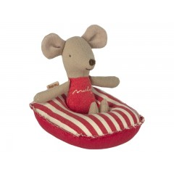 Maileg Gummibåd til små mus - Røde striber