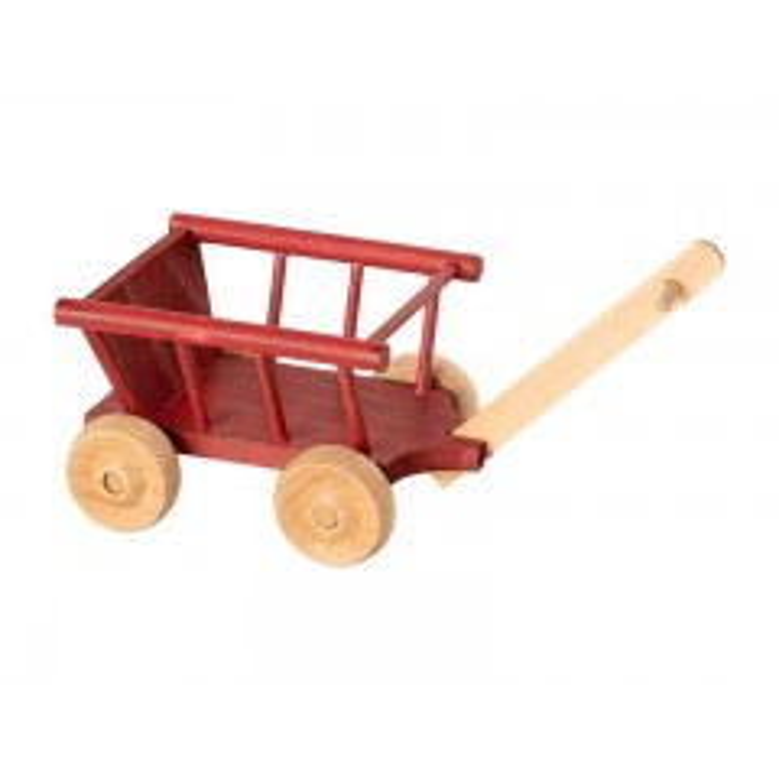Maileg trækvogn, Micro - Rød