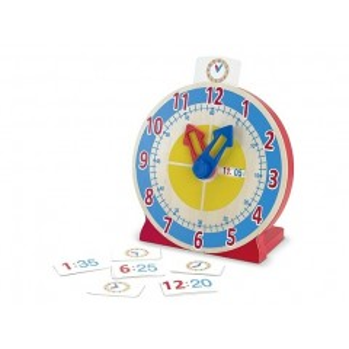 Lær klokken - spil fra Melissa & Doug