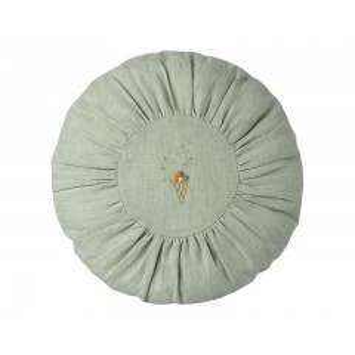 Maileg pyntepude rund Ø25 cm - Mint