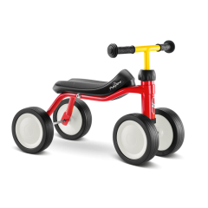 PUKYlino løbecykel - Rød