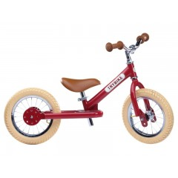 Trybike Løbecykel Rød i retro look