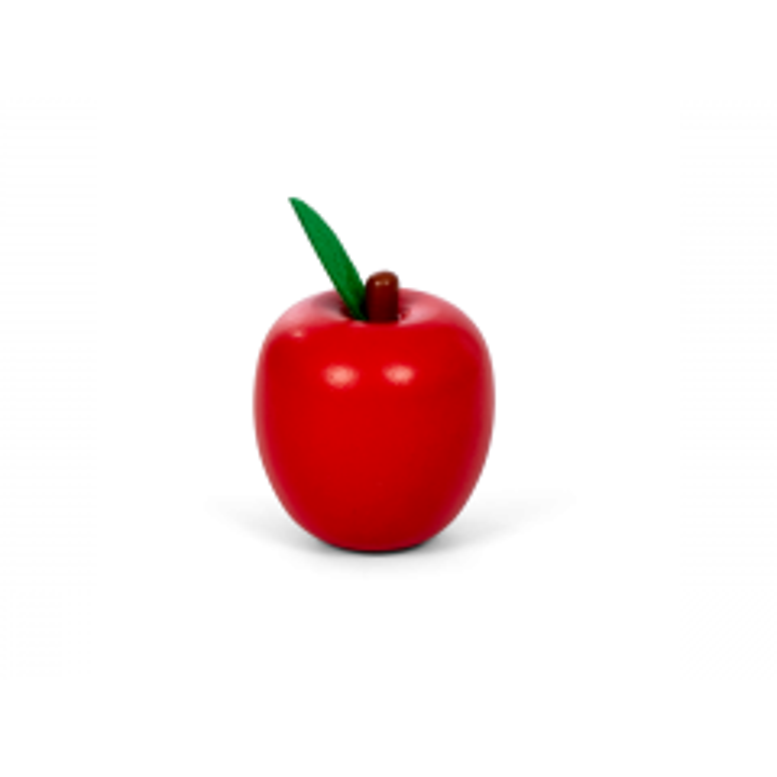 MaMaMeMo - Rødt æble - Legemad i træ