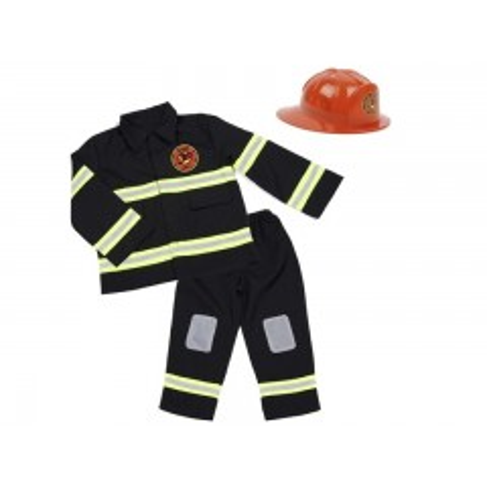 Brandmands udklædning med hjelm fra Den Goda Fen