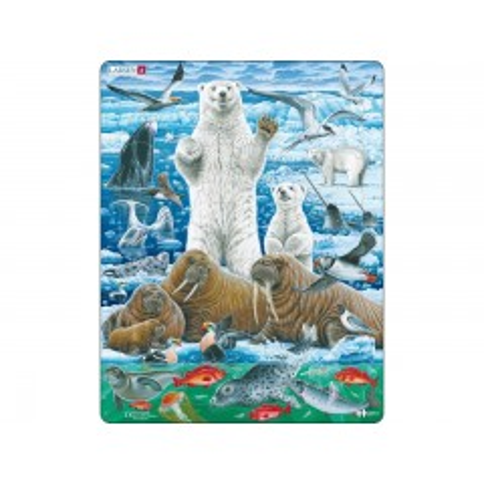 Larsen Puslespil - Isbjørne - 46 brikker