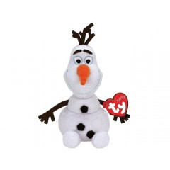 Frost Olaf bamse med lyd - 16 cm