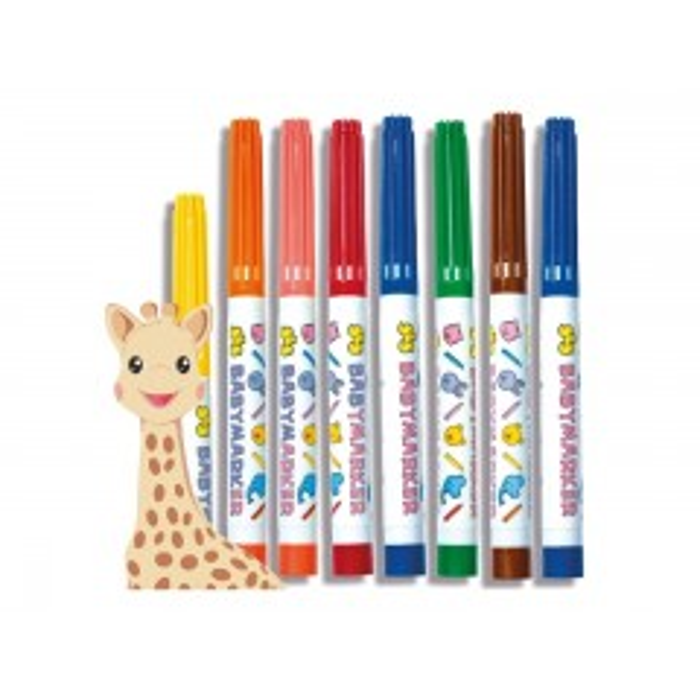 Mine første tuscher - Sophie la Girafe - SES Creative