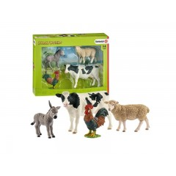 Schleich Farm World startsæt m. 4 dyr